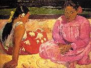 Paul Gauguin Women of Tahiti oil painting artist