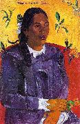 Paul Gauguin Vahine No Te Tiare oil painting picture wholesale