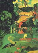 Paul Gauguin Landscape with Peacocks oil painting picture wholesale