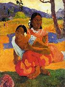 Paul Gauguin When Will You Marry oil painting picture wholesale