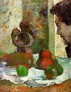 Paul Gauguin Still Life with Profile of Laval Sweden oil painting reproduction