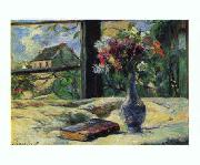 Paul Gauguin Vase of Flowers   8 oil painting picture wholesale