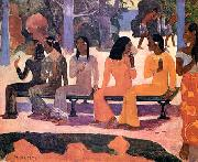 Paul Gauguin Ta Matete oil painting artist