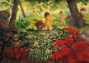 Paul Ranson The Bathing Place(Lotus) oil painting picture wholesale