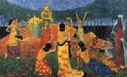 Paul Serusier The Daughters of Pelichtim oil painting picture wholesale