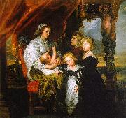 Peter Paul Rubens Deborah Kip and her Children oil painting picture wholesale