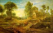 Peter Paul Rubens Landscape with a Watering Place oil painting picture wholesale