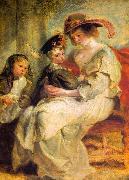 Peter Paul Rubens Helene Fourment and her Children, Claire-Jeanne and Francois oil painting picture wholesale