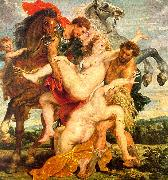 Peter Paul Rubens The Rape of the Daughters of Leucippus oil painting picture wholesale