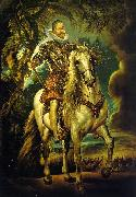 Peter Paul Rubens Equestrian Portrait of the Duke of Lerma oil painting picture wholesale