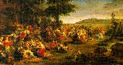 Peter Paul Rubens The Village Wedding oil painting picture wholesale