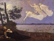 Pierre Puvis de Chavannes The Dream oil painting artist