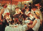 Pierre Renoir Luncheon of the Boating Party oil painting picture wholesale