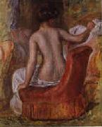 Pierre Renoir Nude in an Armchair oil painting picture wholesale
