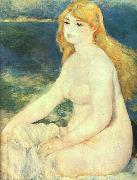 Pierre Renoir Blond Bather oil painting picture wholesale
