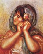 Pierre Renoir Gabrielle with Rose oil painting picture wholesale