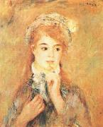 Pierre Renoir Ingenue oil painting picture wholesale