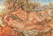 Pierre Renoir The Great Bathers oil painting picture wholesale