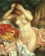 Pierre Renoir Bather Arranging her Hair oil painting picture wholesale