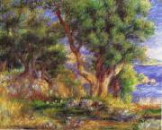 Pierre Renoir Landscape on the Coast near Menton oil painting picture wholesale