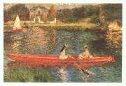 Pierre Renoir Boating on the Seine oil painting picture wholesale