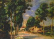 Pierre Renoir The Road To Essoyes oil painting picture wholesale