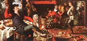 Pieter Aertsen The Egg Dance oil painting artist