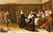 Pieter Codde Dancing Party oil painting picture wholesale