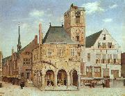 Pieter Jansz Saenredam The Old Town Hall in Amsterdam oil painting picture wholesale