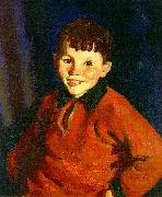Robert Henri Smiling Tom oil painting artist