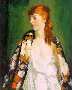 Robert Henri Edna oil painting artist