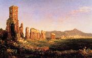 Thomas Cole Aqueduct near Rome oil painting picture wholesale