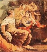 Simon Vouet Parnassus or Apollo and the Muses oil painting picture wholesale
