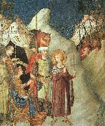 Simone Martini St.Martin Renouncing the Sword oil painting picture wholesale