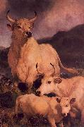 Sir Edwin Landseer Wild Cattle at Chillingham oil painting picture wholesale