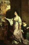Sir Joshua Reynolds Lady Sarah Bunbury Sacrificing to the Graces oil painting picture wholesale