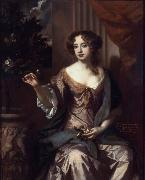 Sir Peter Lely Elizabeth, Countess of Kildare oil painting artist