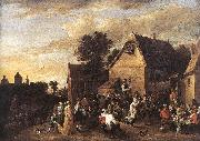 TENIERS, David the Younger Flemish Kermess fh oil painting picture wholesale