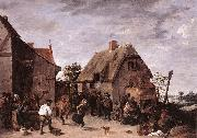 TENIERS, David the Younger Flemish Kermess kh oil painting picture wholesale