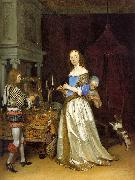 TERBORCH, Gerard Lady at her Toilette atf oil painting picture wholesale