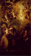 TIZIANO Vecellio Annunciation srt oil painting picture wholesale