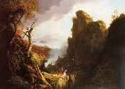 Thomas Cole Indian Sacrifice oil painting picture wholesale