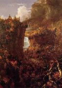 Thomas Cole Portage Falls on the Genesee oil painting picture wholesale