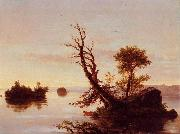 Thomas Cole American Lake Scene oil painting picture wholesale