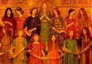 Thomas Cooper Gotch Alleluia oil painting picture wholesale