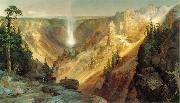 Thomas Moran Grand Canyon of the Yellowstone oil painting picture wholesale
