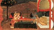 UCCELLO, Paolo Miracle of the Desecrated Host (Scene 6) wt oil painting artist