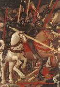 UCCELLO, Paolo Bernardino della Ciarda Thrown Off His Horse (detail) wt oil painting artist