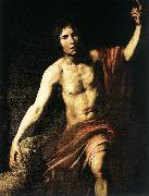 VALENTIN DE BOULOGNE St John the Baptist wet oil painting picture wholesale