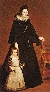 VELAZQUEZ, Diego Rodriguez de Silva y Doua Antonia de Ipeuarrieta y Galds and her Son Luis t oil painting picture wholesale